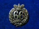 Orig Queen Victoria Cap Badge '66th Berkshire Regiment Of Foot'