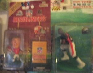 KENNER BRONCOS 1 ELWAY THROWBACK HL 2INCH 1 STARTING LINE. T.DAVIS-97 3INCHES
