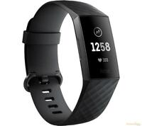 FITBIT Charge 3 - Black & Graphite Universal