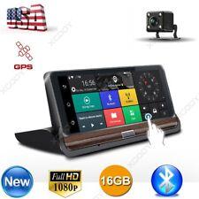 """XGODY 7"""" HD 1080P Dual Lens Car DVR GPS Rear Camera Dash Cam Bluetooth 3G+Wifi"""