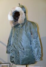 Vtg USAF N-3B Jacket Flying, Southern Athletic Co.Size Medium,Cold Weather Parka