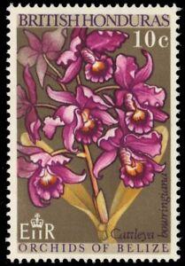 "BRITISH HONDURAS 227 (SG269) - Orchids ""Cattleya bowringiana""  (pa88063)"