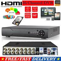 CASPERi 16 Channel 5MP Ultra HD 1920P CCTV DVR Security Video Recorder HDMI BNC