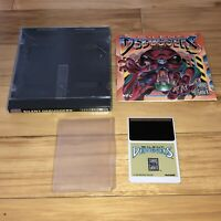 Turbografx 16 Game SILENT DEBUGGERS Complete TESTED Works CIC Hucard Manual Case
