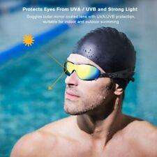 Swimming Goggles Rainbow Lenses Swimming Glasses UVA UVB Proctection For Adult