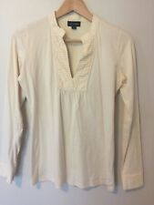 Witchery Cream cotton top size Small womens