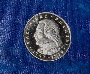 Poland 1976 silver Pulaski 100 Zlotych Proof