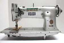 "SINGER 112W115  2-Needle Feed 1/4"" Gauge Industrial Sewing Machine Head Only"