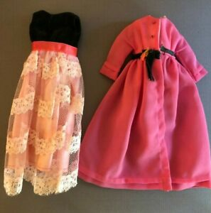 #1232 Two for the Ball 1969 Francie doll outfit MOD vintage Barbie