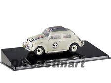 HOTWHEELS ELITE BCK07 1:43 HERBIE THE LOVE BUG 1962 VW VOLKSWAGEN BEETLE #53