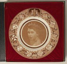 Queen Elizabeth II Plate Clarice Cliff Royal Staffordshire Canada Provinces