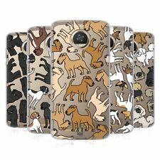 Head Case Designs Dog Breed Patterns 13 Gel Case For Motorola Phones