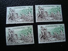 LUXEMBOURG - timbre yvert et tellier n° 552 x4 n** (TU)