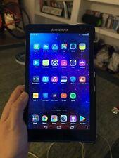 """Lenovo Tab S850F 8"""" Azul Android Tablet 16GB 2GB Ram buenas condiciones de trabajo utilizado"""