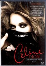 CELINE DION AN AUDIENCE WITH 2007 DVD 9 TRACKS SEALED!!!