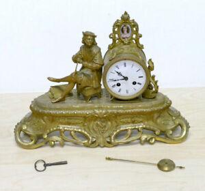 Orologio d'epoca Parigina in bronzo - Seconda metà XIX Secolo