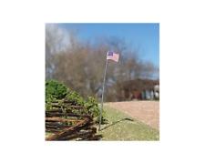 N Scale Osborne Models U.S. Flag & Pole 3 Per Pack Laser Cut Kit #3094