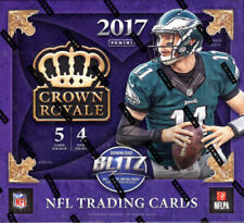 Indianapolis Colts 2017 Panini Crown Royale Football Retail 4Box Case Break/ACrd