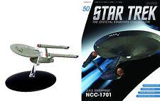 Star Trek Official Starships Magazine #50 Enterptise 1701 (classic) Eaglemoss