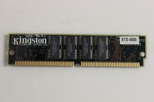 KINGSTON KTD-4000 4MB 72 PIN SIMM MEMORY DELL 486P 486D 325D 325P 333D 333P 433P