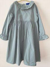 Maison Me Girls Dress Size 8Y Sage Green
