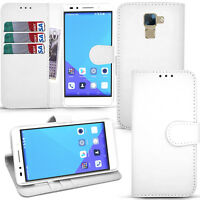 For Huawei Honor 7 - Wallet Leather Case Flip Cover + Screen Guard & Stylus