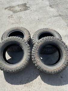 4x BFGoodrich Mud Terrain Tyres 215 75 R15
