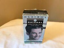 Clairol Natural Instincts Semi-Permanent Hair Color Kit For Men M17 Brown Black