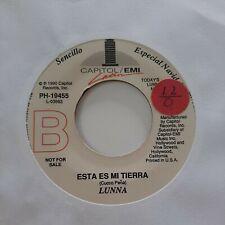 Lunna Esta Es Mi Tierra Capitol EMI Promo VG+ 45 RPM #1954