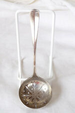Vintage George V Hallmarked Sterling Silver Sugar Sifter Spoon : Sheffield 1924
