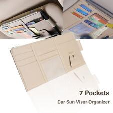 Auto Interior Car Sun Visor Organizer Pocket Document Card Holder Storage Pouch