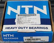 NEW NTN 643 TAPERED ROLLER BEARING 62AX172 FF-B-187/01 115206 705167 7060 3122