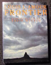 1984 FRONTIER by Louis L'Amour & David Muench HC/DJ VF/FN+ 1st Bantam 224pgs