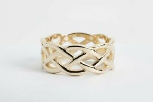 James Avery 14k Gold Woven Band