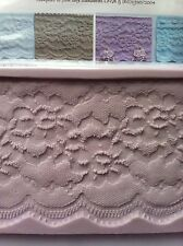 Karen Davies Rose Vintage Lace Border Mould for Sugarcraft Cake Decorating