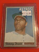 VINTAGE 1970 Topps Baseball Card Set #559 HOUSTON ASTROS - Tommy Davis