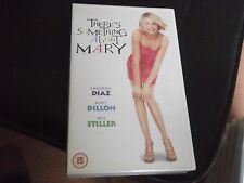 THERE'S SOMETHING ABOUT MARY VHS VIDEO CASSETTE cameron diaz,lee evans