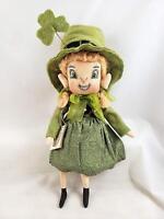 "Gallerie II ""Kerry"" Irish Girl -Gathered Traditions Soft Sculpture- Joe Spencer"