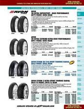 Avon 3D Ultra Extreme High Performance Bike Tire Rear 190/55ZR17