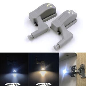 LED Hinge Lamp Under Cabinet Lights Universal Wardrobe Cupboard Sensor LighFY