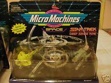 STAR TREK DS9 MICRO MACHINES ORIGINAL W STATION #65825