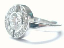 Chanel 18KT Round Cut Diamond Engagement Jewelry Ring Style #J1501