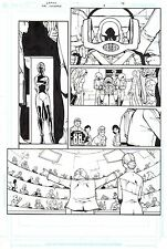 GIUSEPPE CAMUNCOLI  Original Art Page THE INTIMATES