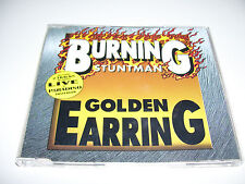 GOLDEN EARRING - BURNING STUNTMAN * RARE 2 TRACK LIVE RECORDED CD MAXI 1997 *