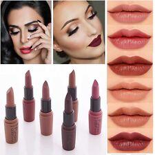 6Color Women Makeup Waterproof Matte Velvet Lipstick Long Lasting  Lip Gloss New