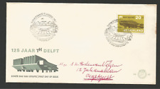 FDC - 1er jour 1967 Nederland timbres sur lettre  /L1077