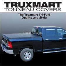 TRUXMART TriFold Tonneau Truck Bed Cover fits 2015-2017 Ford F-150 F150  6'5 Bed