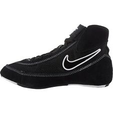 Nike  366684 001 Black White Speed Sweep VII Wrestling Shoes size 4Y