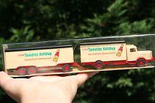"Vintage Wiking-Modellbau kraft's""Tomaten Ketchup"" -Toy Car Plastic. Germany"
