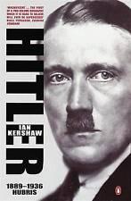 HITLER 1889-1936: Hubris by Ian Kershaw (Paperback, 2001)